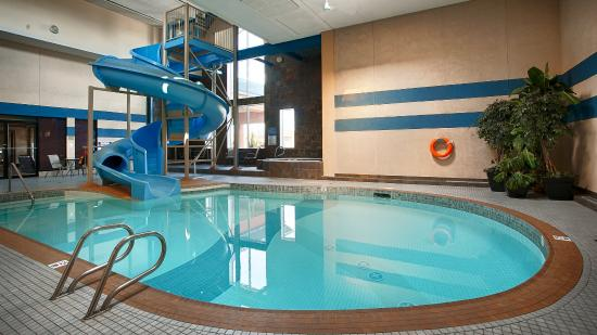 Pool With Waterslide Picture Of Best Western Plus City