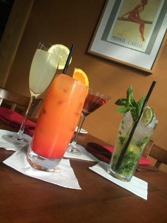 Monte Carlo Restaurant, Bar and Grill: Amazing cocktails