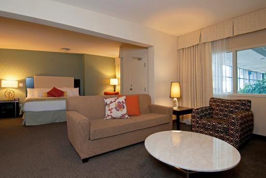 Coast Kamloops Hotel & Conference Centre: Honeymoon Suite - Living Area