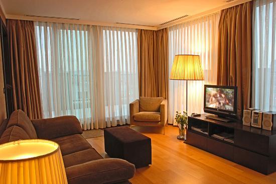 Bentley Hotel: Bosphorus Suite Bosphorus View