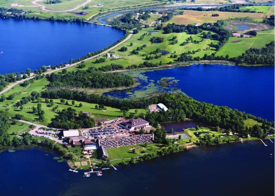 Arrowwood Resort & Conference Center: Aerial