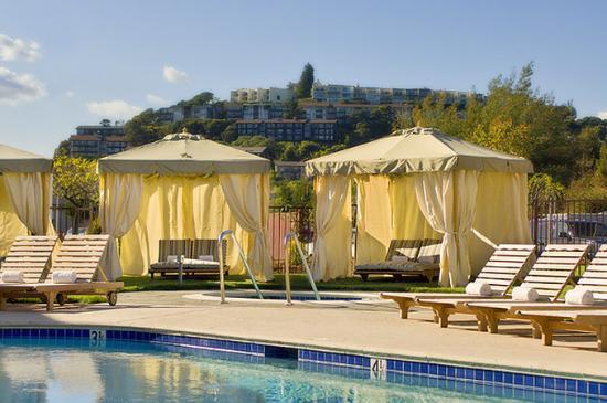 The pool at The Lodge at Tiburon
