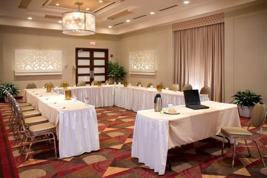 hotel ruby foos banquet meeting room u shape - U Shape Hotel Decoration