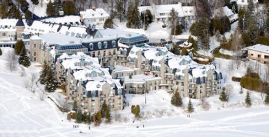 Hotel Le Chantecler: CHAFacade HIVERPix