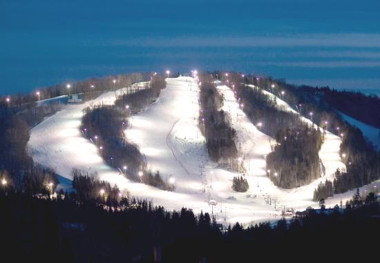 Hotel Le Chantecler: Ski Run