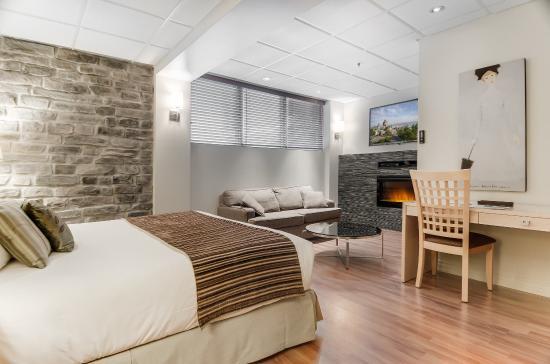Hotel du Vieux-Quebec: Quebec room