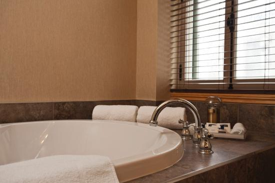 Hotel Chateau Bellevue: Large therapeutic bath