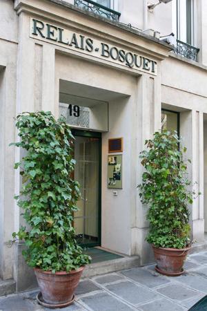 Hotel Relais Bosquet Paris : Exterior view