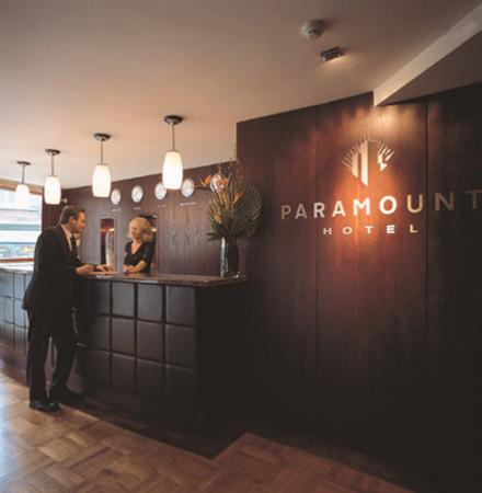 Paramount Hotel Temple Bar: View