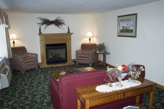 Seabrook Inn: Lobby