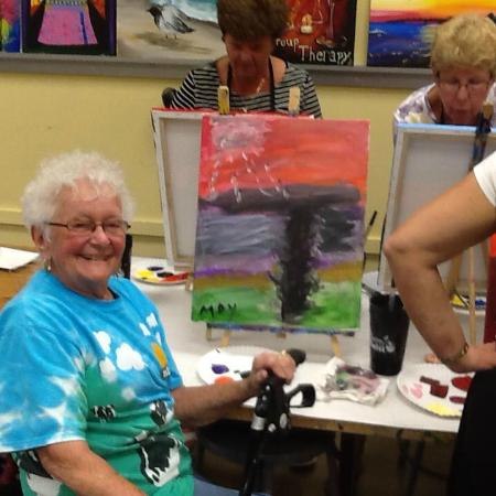 Mommy and me picture of painting with a twist sarasota for Painting with a twist locations near me