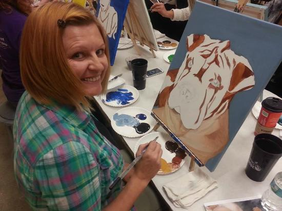 Paint Your Pet Picture Of Painting With A Twist Sarasota