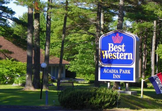 BEST WESTERN Acadia Park Inn Entry