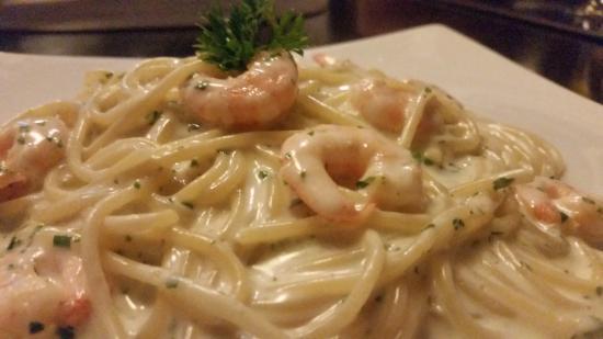 La Bella Italia : Massa com camarão