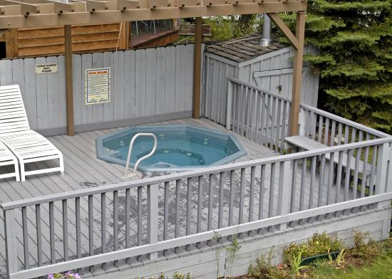 Aspenalt Lodge: Whirlpool