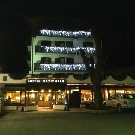 Hotel Nazionale : vista notturna