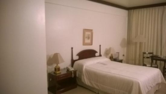 Hotel Excelsior Asuncion: Cama