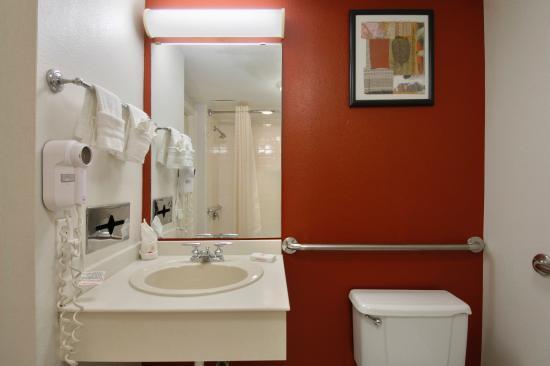 Red Roof Inn Dallas-Richardson: ADA Accessible Bath