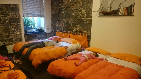 B&B Dell'Acquario: La camera arancione