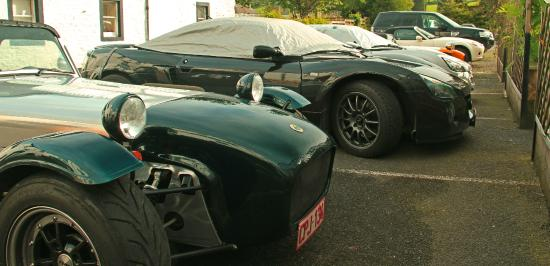 Annandale Arms Hotel: Lotus car club