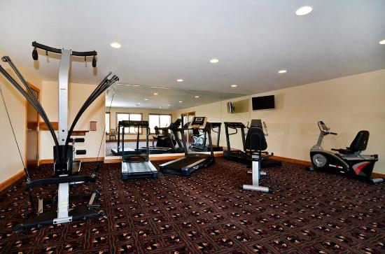Best Western Plus Dockside Waterfront Inn: Fitness Center