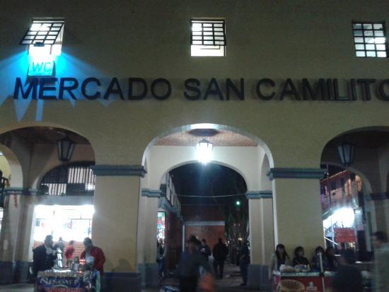 Mercado San Camilito     Plaza Garibaldi, Cidade do Méxic