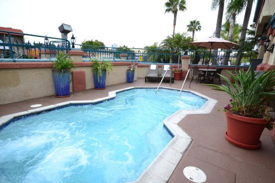 best western redondo beach galleria inn outdoor hot tub