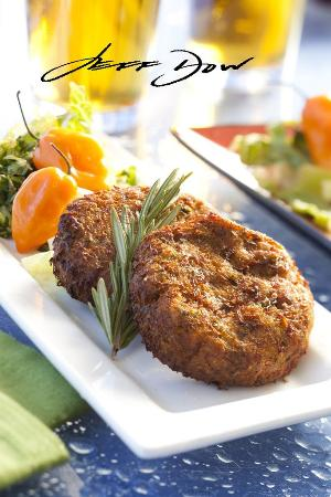 Beach Retreat & Lodge at Tahoe: Crabcakes At Boathouse Restaurant