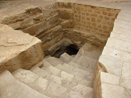 Mastaba of Ti : Bajando a la Tumba
