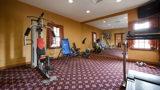 Best Western Country Suites: Fitness Center