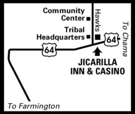 Dulce, Nuevo México: Regional Map