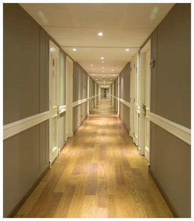 Hotel Neruda: Pasillos