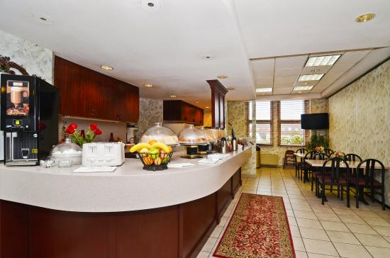 Gresham, Oregón: Breakfast Area