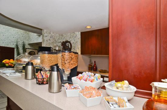 Gresham, OR: Breakfast Area
