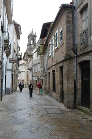 A Tafona do Peregrino: Una callecita de Santiago de Compostela