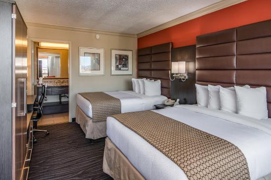The Capitol Hotel Downtown Nashville: Double Queen Bedded Room