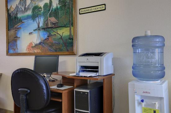 Americas Best Value Inn Roosevelt/Ballard: Business_Center