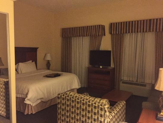 Hampton Inn & Suites Birmingham-Hoover-Galleria: room view (a suite I was told)