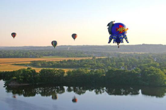 Quality Inn Wausau: Hot Air Balloons