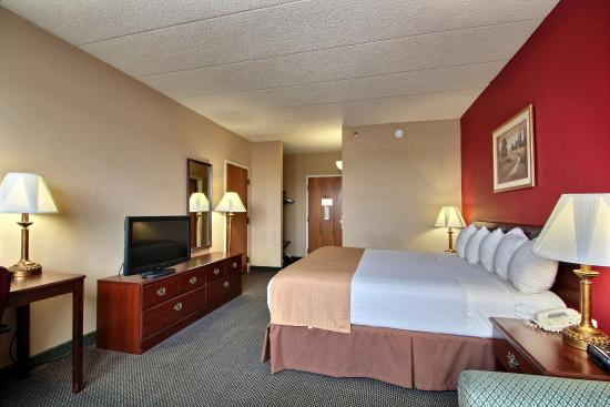 BEST WESTERN Executive Inn: King Guest Room