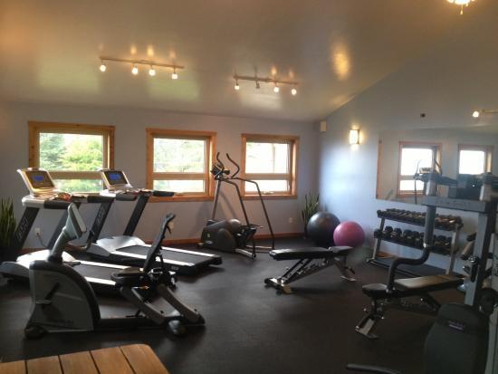 Best Western Tin Wis Resort: Fitness Center
