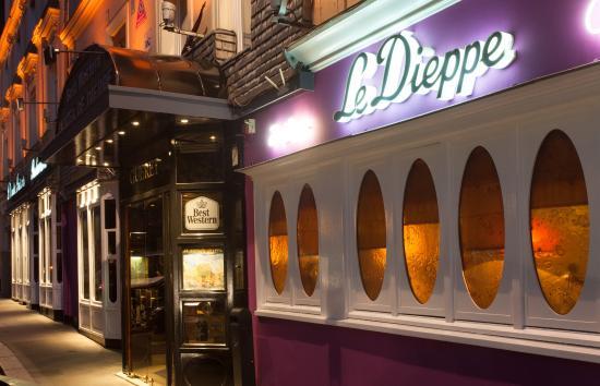 BEST WESTERN Hôtel de Dieppe : BEST WESTERN De Dieppe