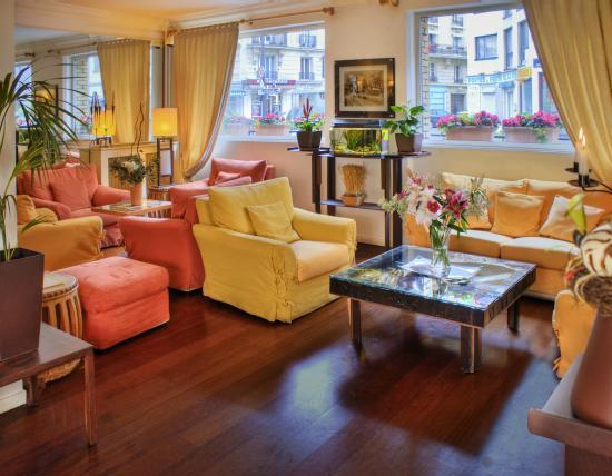 Best Western Hotel Eiffel Cambronne: Lobby