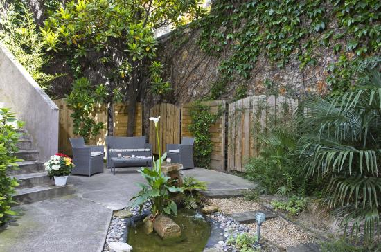 Hôtel Best Western Montcalm : Garden