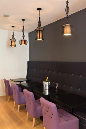 Hotel Villa Bohème: Lounge
