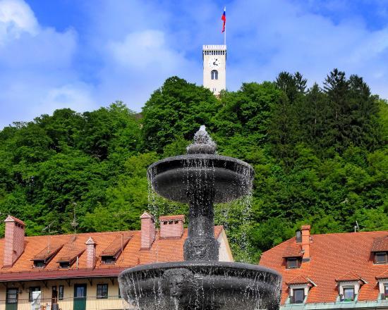 Best Western Premier Hotel Slon: Old Town and Ljubljana Castle