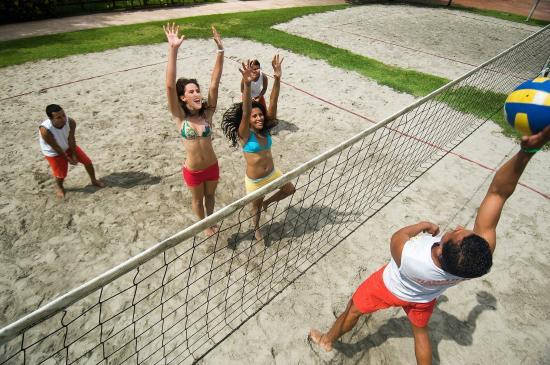 Hotel & Club Punta Leona: Volleyball
