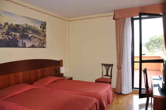 Hotel Hermitage: Camera Rossa