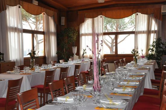 Hotel Hermitage: Restaurant Lounge