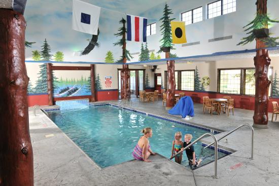 Indoor Outdoor Pool Picture Of Stoney Creek Hotel